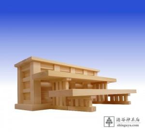 20150809 上坪孝男様 八脚案(神饌台、八足台) 桧製 71×18×22、11cm 3s